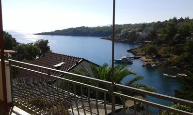 Photo for Two bedroom apartment near beach Basina, Hvar (A-11923-a)