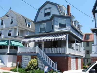 Photo for Lovely & Steps to Finest Beach. Center of Cape May.  Private Driveway!