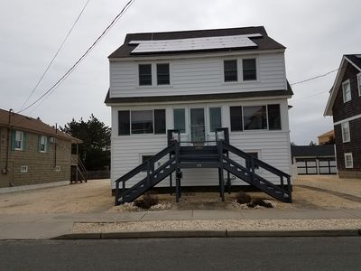 Photo for Seaside Park Borough - Apartment Pet friendly steps to beach Ground Level.