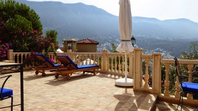 Photo for Luxury Villa with private pool, magnificent views,10min walk into Kalkan, Wifi