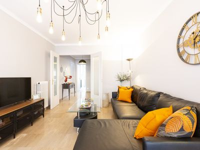 Photo for Chez Philippe : bright design apartment in the center of Antibes