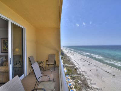 Photo for Gorgeous Calypso home with gulf view, private balcony and access to amenities