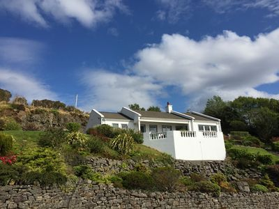 Photo for Stoneacre:  Connemara cottage nestled into hillside overlooking Killary Fjord