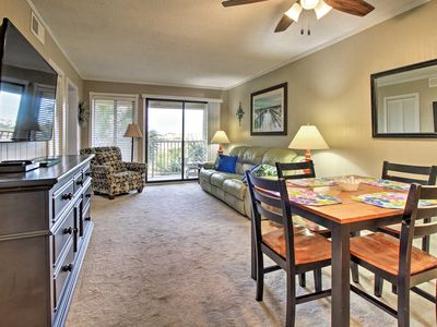 Photo for Hilton Head Villa w/Ocean View, Pool-Walk to Beach