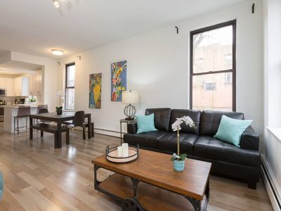 Photo for Charming 3 BR/2 BA Apartment- 15 mins to NYC!