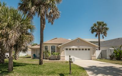 Photo for 3 Bedroom Beachy Keen Pool Home - Walking Distance to the Beach!  828H