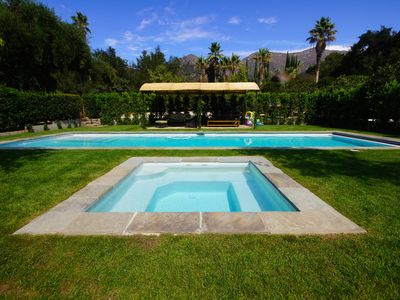 Photo for Zen Gardens a peaceful retreat home ,saltwater pool,  South of France flaire