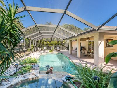 Photo for TurnKey - 3BR w/ Private Heated Pool & Spa in Cape Coral, near Tarpon Point
