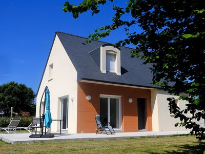 Photo for Trégastel - New house in quiet area - Close to beaches and shops