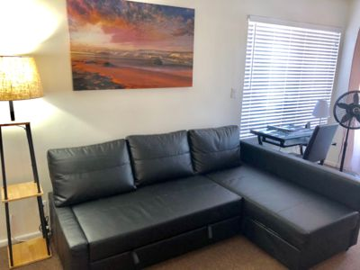 Photo for Cozy 2 bedroom 1 bath Apartment, 4 miles to LAX Los Angeles Airport!