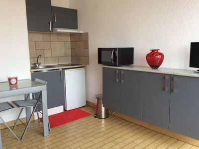 Photo for studio spa comfort wi fi with balcony private parking Balaruc les Bains