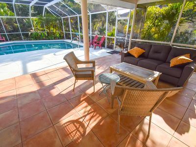 Photo for Lovely Home / Pool Sanctuary 2 min to Nokomis Beach/Casey Key incl KAYAKS, Bikes