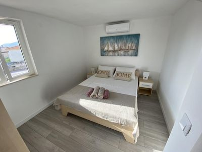 Photo for Two bedroom apartment with terrace and sea view Okrug Gornji, ÄŒiovo (A-12119-a)