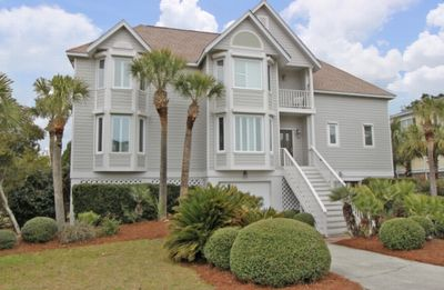 Photo for Come see Charleston in the FALL!   4 BEDROOM HOME WITH PRIVATE POOL IN GATED OCEAN POINT COMMUNITY!