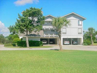 Photo for Nicely furnished 14F Inlet Point  Marsh View Condo