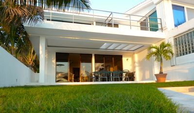 Photo for Beach Front Villa With Fantastic Views Plus It's Right Next To The Pool