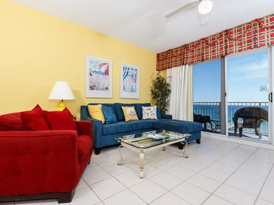 Photo for Gorgeous penthouse condo, Breathtaking gulf views, Restaurant on-site