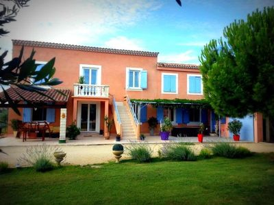 Photo for Private house on 1 floor with garden 2200m² and private pool