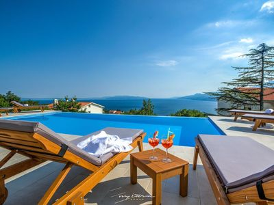 Photo for Beautiful villa with private pool near Opatija