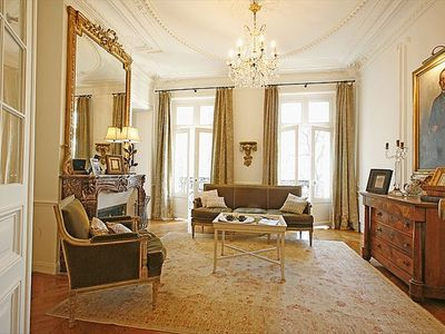 Photo for Last minute 20% off! Large Classic Luxury Marais Pied-a-Terre 3 bed/2 bath-6 pax
