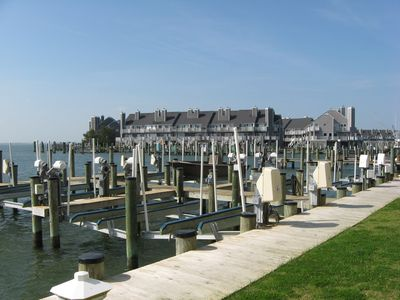 """View from Deck - walking distance to the famous """"White Marlin"""" & Reel Inn"""