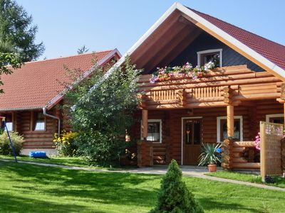 Photo for Detached wood brick house in the Harz with private terrace and balcony