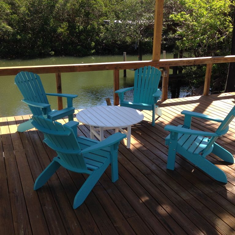 Twin 2 Bedroom, 2 Bath Cottages , Palm Island, Gulf View, Heated Pool, Boat  Dock