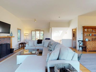 Photo for NEW LISTING! Sunny bayview and dog-friendly house near beaches and golf!
