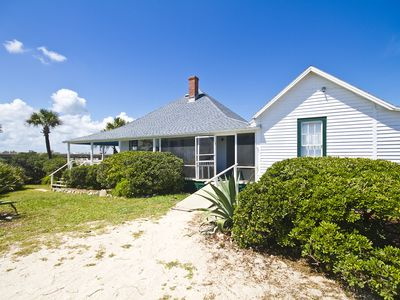 As seen in Coastal Living, historic 5 bedroom oceanfront cottage
