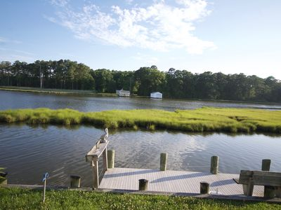 Photo for Quaint waterfront bungalow just minutes from the beaches of Ocean City, MD