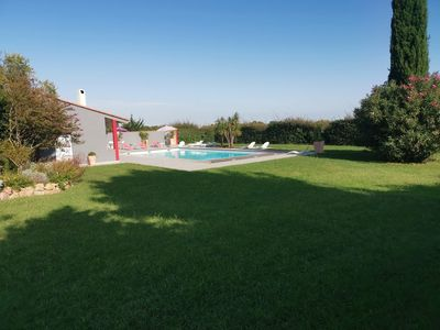 Photo for The MAS tower, Perpignan, Large swimming pool, 10 minutes from the sea