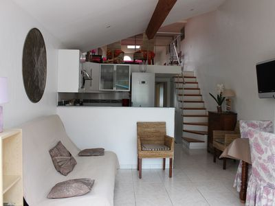 Photo for Air-conditioned architect's house with garden, all comfort, 100 m from the beach 3 *