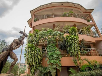 Photo for This B&b a great choice for a group of backpackers visiting Kampala.
