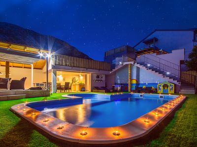 Photo for NEW! Heated pool! Electric bikes!Unique high end paradise for your dream holiday