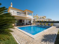 The villa is in a quiet area in a small mixed development.