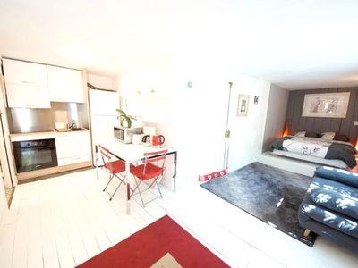 Photo for Homerez last minute deal - Beautiful studio with garden and Wifi