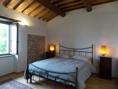 Photo for Independent apartment in an 18th century stone farmhouse.