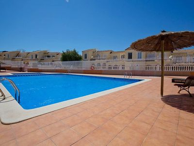 Photo for Superb quiet accommodation very well located with pool in Gran Alacant
