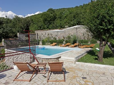 Photo for Holiday apartment with pool and big terrace
