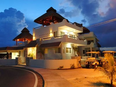 Photo for Isla Mujeres, Cancun 1-5 BR, Oceanfront Villa Pool, from $130