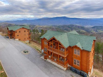 Photo for Dream View Manor |Amazing Long-Range Mountain Views |Theater & Game Rooms |Pet-Friendly |Sleeps 54