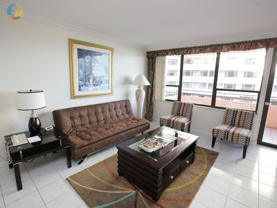 Classic 2 Bedroom with Balcony and Pool - 1010