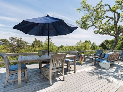 Photo for Beach Cottage in the Amagansett Dunes.