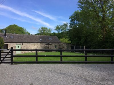 Photo for Single-storey stone cottage near Llanrhystud, between Aberystwyth & Aberaeron.