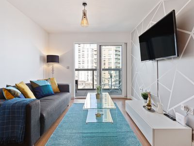 Photo for Amazing 2 Bed Apt w/Balcony nr O2 Arena and Excel