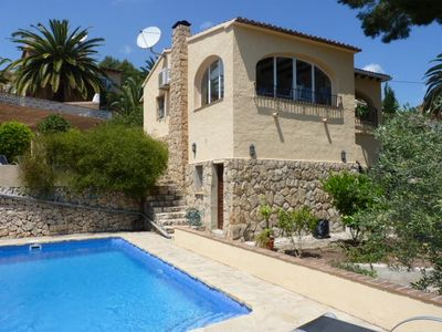 Photo for Large Private Villa with swimming pool.  Air conditioning throughout the villa