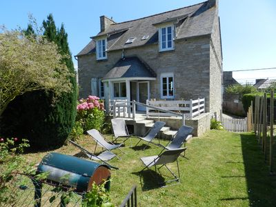 Photo for HOUSE St Cast the Guildo-Sea View-750m from the Beach - sleeps 12