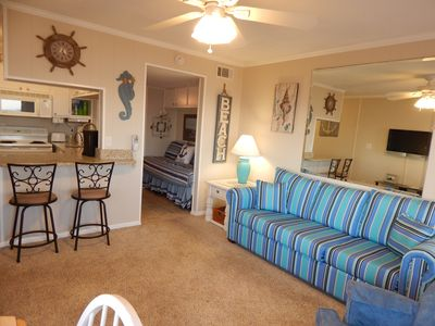 Photo for Ocean Front Unit, First Floor.  Newly Remodeled and Decorated