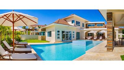 Photo for 4, 5, 6 and 7 bdrm Private Villas with Private Pool in Beautiful Puerto Plata!
