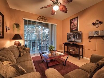 Photo for Mickey's Hideaway - 2nd Floor Condo - 3 bed, 2 bath condo is perfectly situated within close proximity to the resort pool and community amenities.  (photos Feb 2018 )